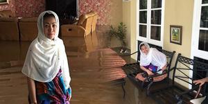 Rumah Wanita Emas Kebanjiran, Bingung Mercy-nya Terendam