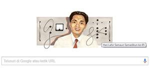 Samaun Samadikun, Ilmuwan Indonesia Hadir di Google Doodle