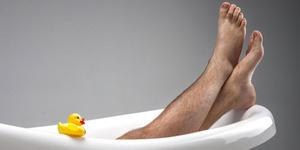 Survei: Wanita Tak Menyukai Pria Berbulu Kaki Lebat