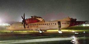 Tabrakan Pesawat Batik Air VS TransNusa, Sayap Terbakar Bandara Ditutup