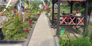 Taman Cantik di Malang ini Bekas Bantaran Kali Tak Terurus