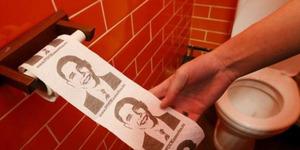 Kafe Rusia Pemuja Putin, Tisu Toiletnya Wajah Obama
