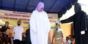 Wanita Non Muslim Dihukum Cambuk di Aceh Disorot Dunia