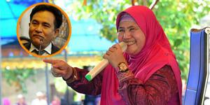Yusril Maju Jadi Gubernur, Mamah Dedeh: Rakyat Bosan Banyak Janji