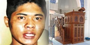 Maling Laknat, Curi Kotak Amal Lalu Berak di Mimbar Masjid