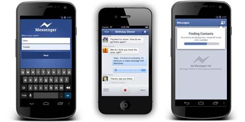 Cara Kirim Pesan Suara di Facebook