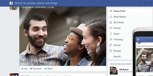 Cara Ubah Tampilan Baru News Feed Facebook
