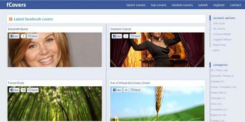 Fcovers Gudang untuk Cover Keren Facebook Timeline