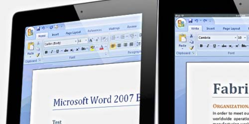 Microsoft Office Bakal Lengkapi iPad