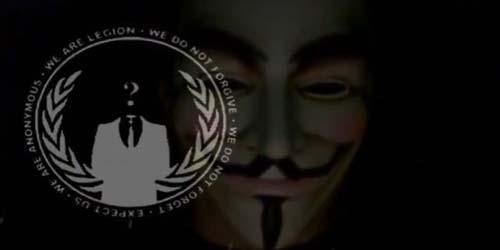 Anonymous Hacker Menembus Situs Israel 60 Juta Kali