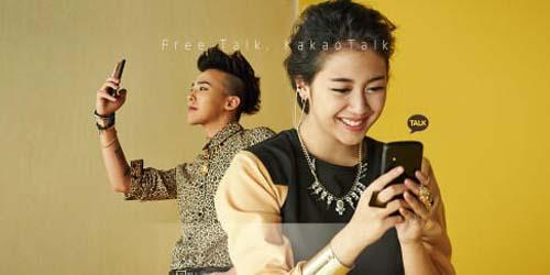 Sherina dan Big Bang jadi Model Iklan KakaoTalk