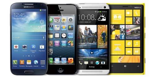 Yang Lebih Hebat? Samsung Galaxy S4, Apple iPhone 5, HTC One, Nokia Lumia 920