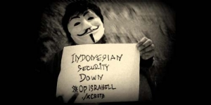 Hacker Indonesia Bantu Anonymous Serang Israel