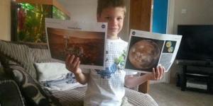 Ingin ke Planet Mars, Bocah 7 Tahun Kirim Surat ke NASA