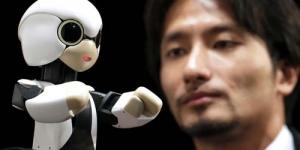 Jepang Kirim 'Kirobo' Robot Mirip Astro Boy ke Luar Angkasa