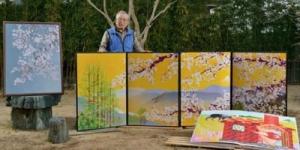 Pria Jepang Bikin Lukisan Dengan Microsoft Excel