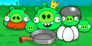 Sukses dengan Angry Birds, Ravio Rilis 'Angry Pigs'
