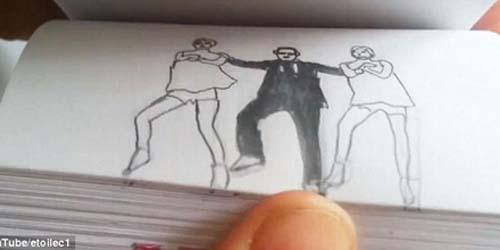 Gokil! Gangnam Style Versi Flipbook