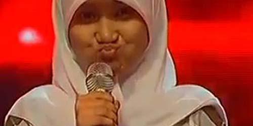 Suara Indah Fatin Shidqia Lubis dengan Grenade di X Factor