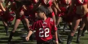 Bottger, Bocah 10 Tahun Menari dengan Cheerleader Bikin Heboh YouTube