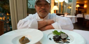 Restoran Tokyo Menjual Makanan dari Tanah