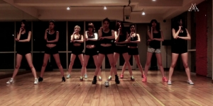 Tarian Seksi Nine Muses di Video Dance Practice Wild