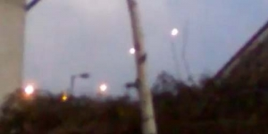 UFO Melintasi Langit Irlandia