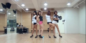 Video Dance Practice Seksi SISTAR Give It To Me